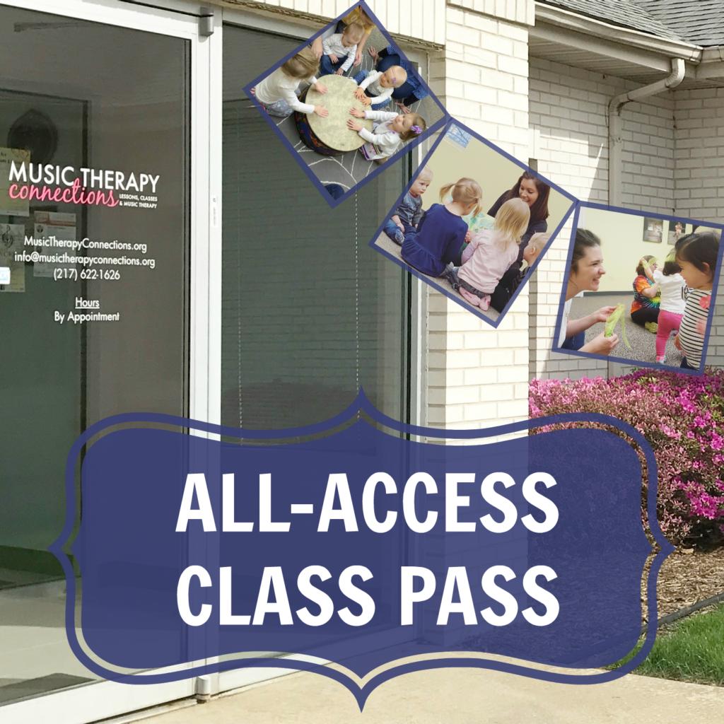 All Access Class Pass | Music Class | Springfield, IL