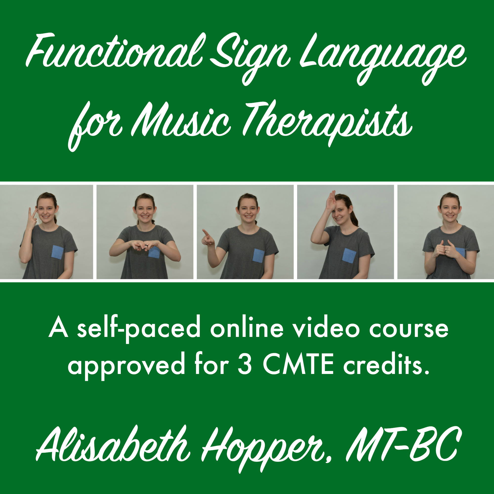 Functional Sign Language for Music Therapists