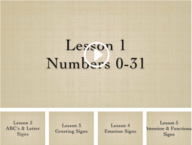 Functional Sign Language for Music Therapists | Lessons 1-5