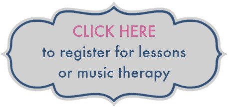 Register for music lessons or music therapy