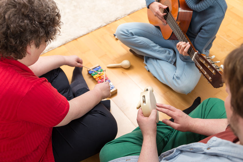 Music Therapy Application for Impulse Control and Motor Skills