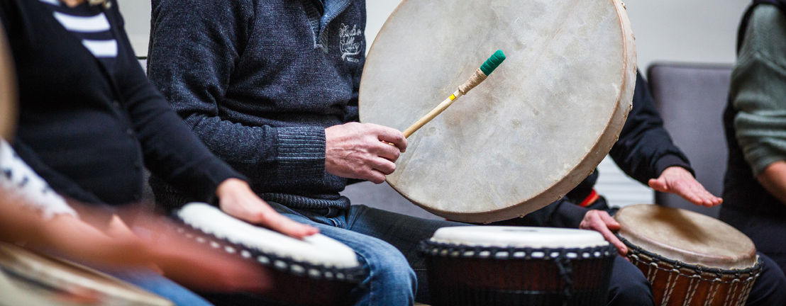 Drumming Application for Music Therapy