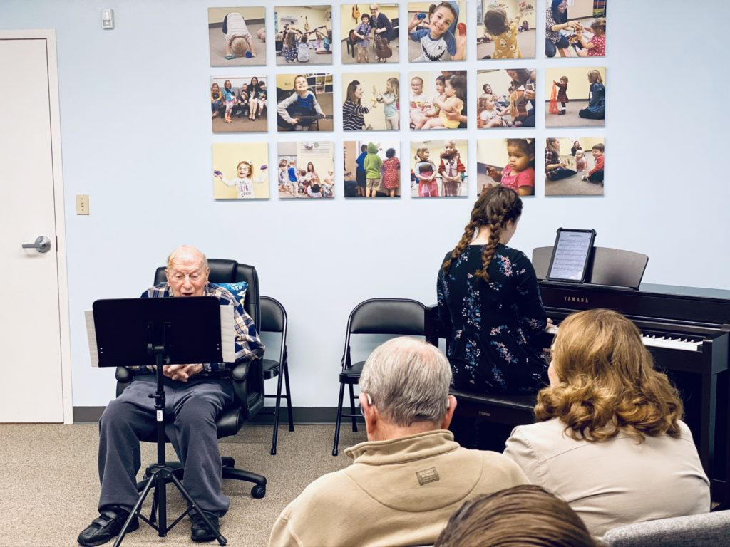 Photo of MTC adult recital! – Music therapy connections