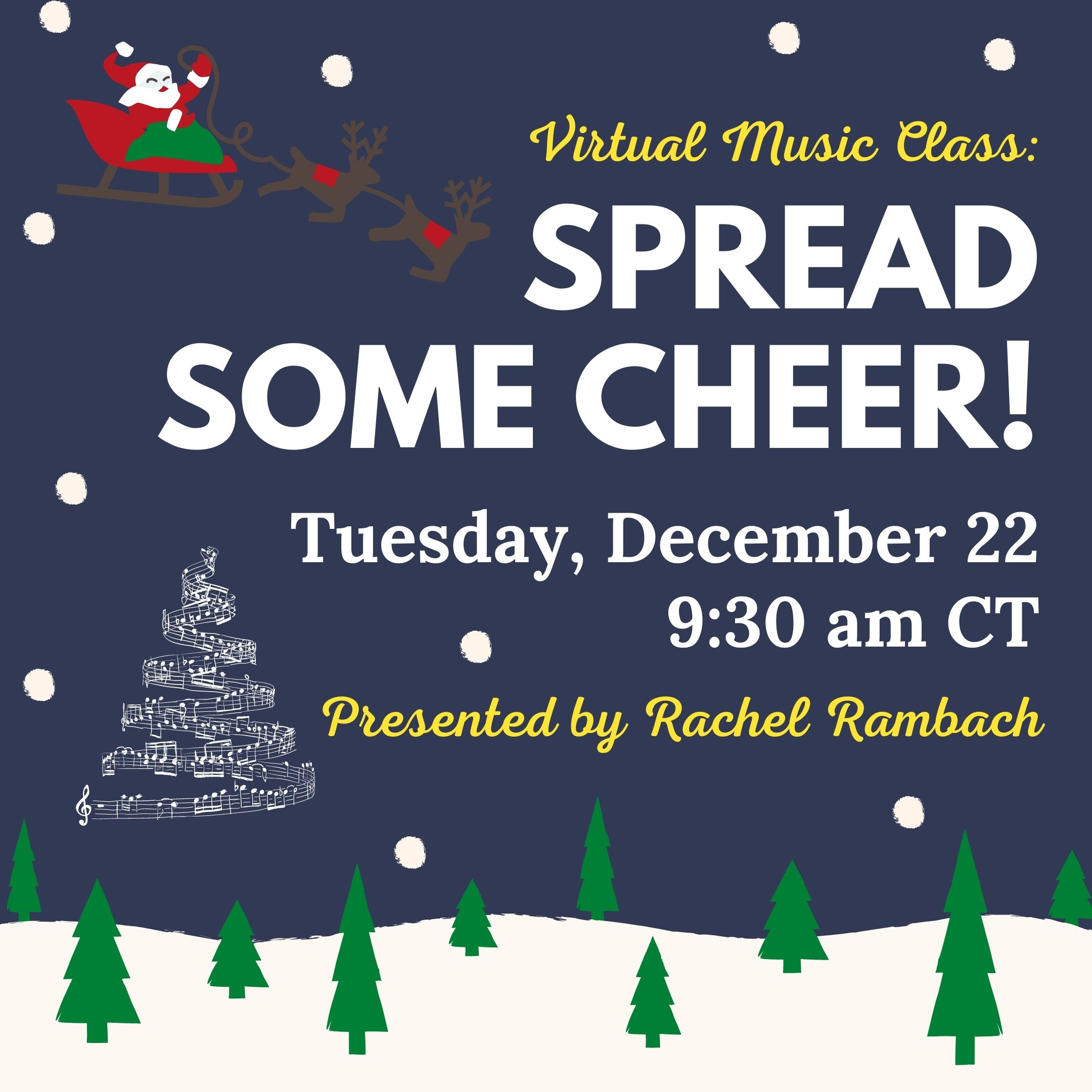 Virtual Music Class - Spread Some Cheer