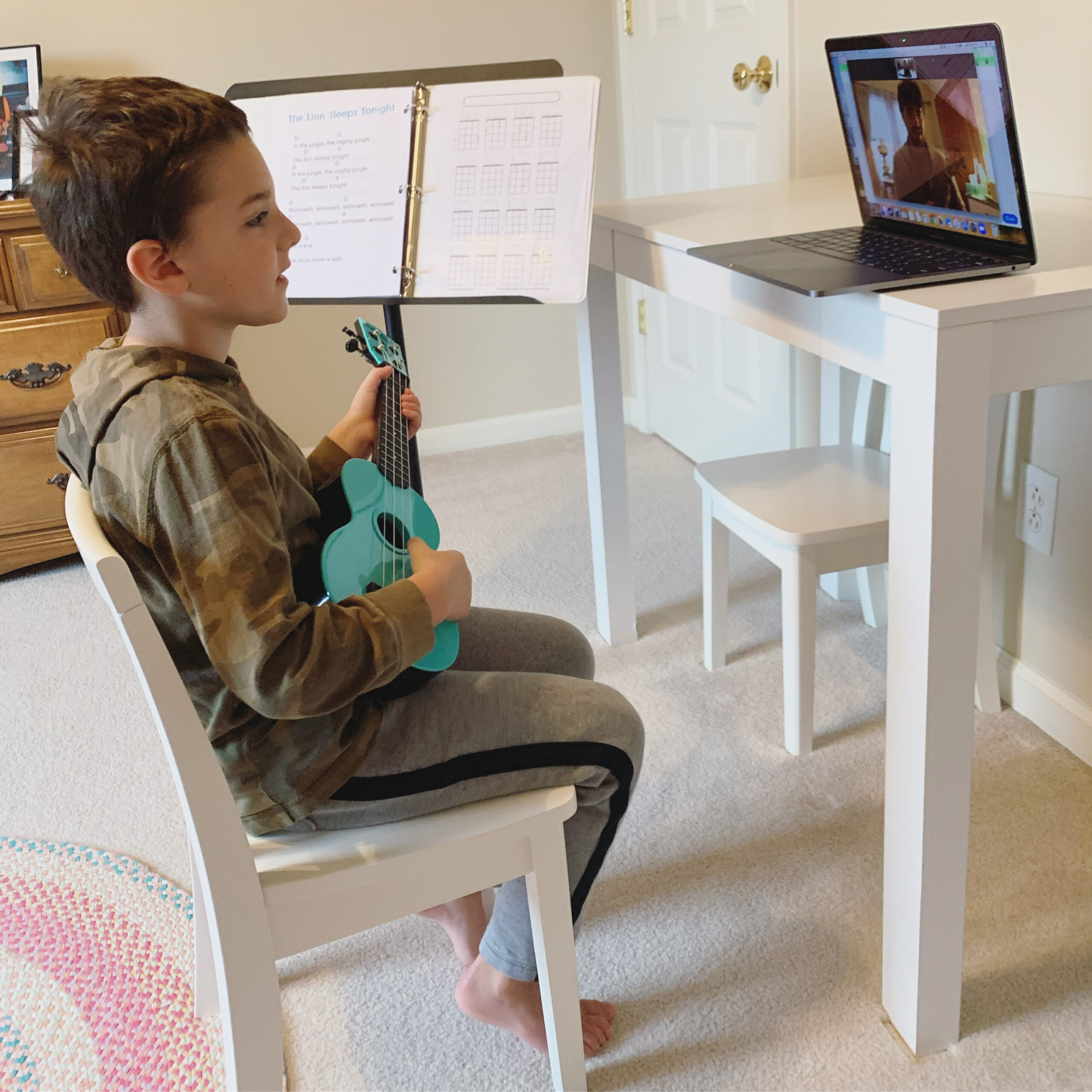 Virtual Lessons & Music Therapy Services