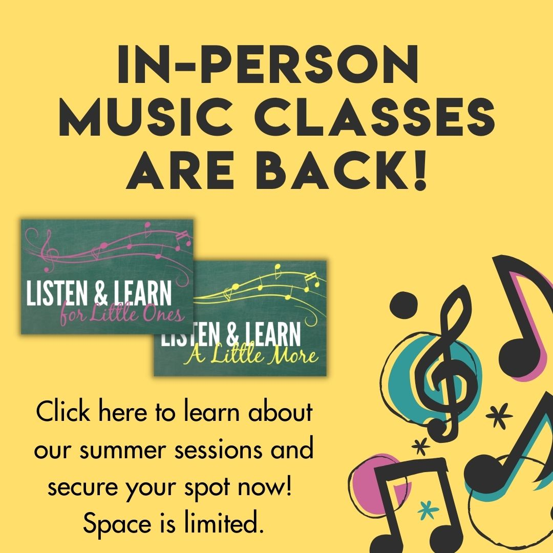 In-Person Music Classes | Music Therapy Connections | Springfield, IL