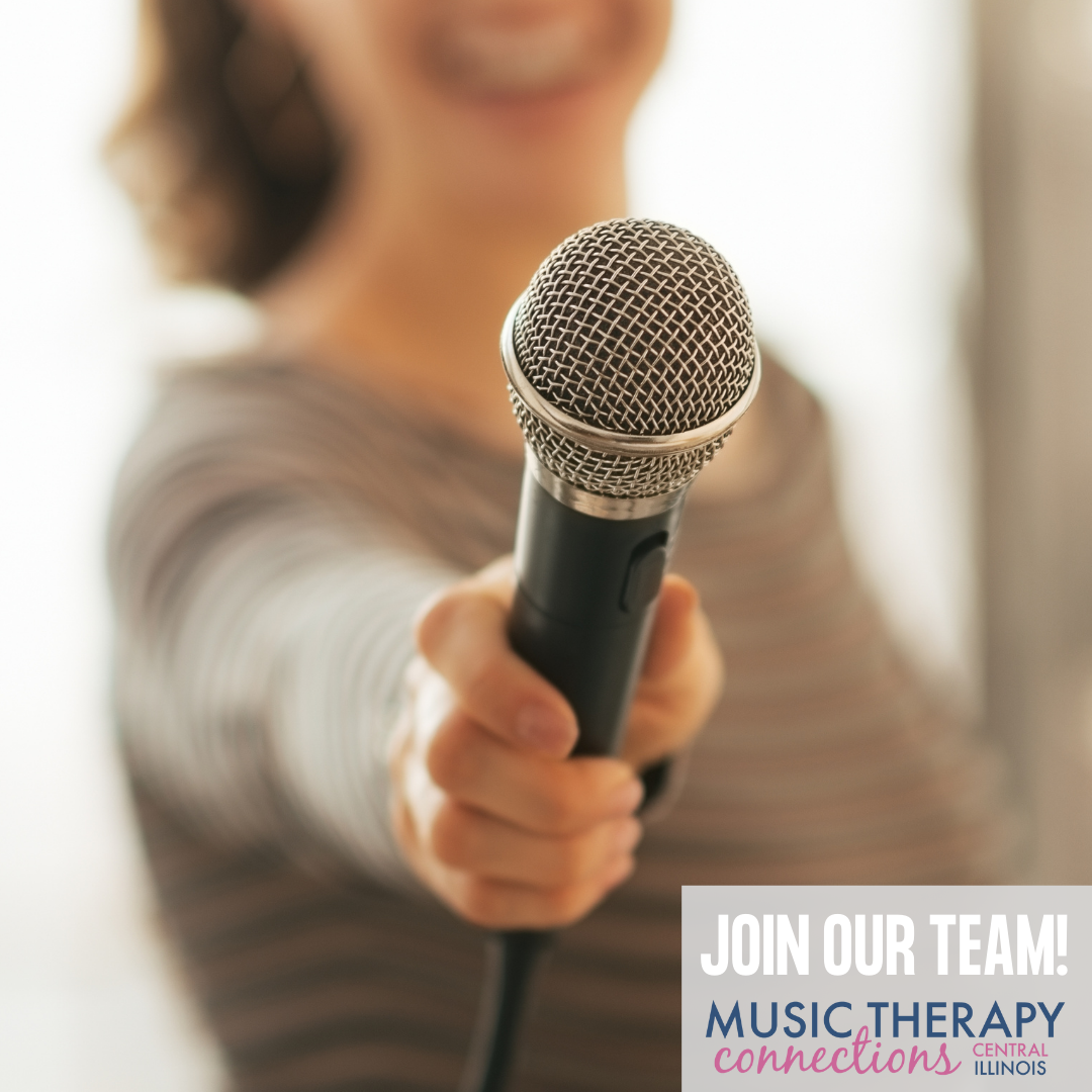 Join Our Team! | Music Therapy Connections | Springfield, IL